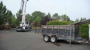 Crane Ready to Install Poles