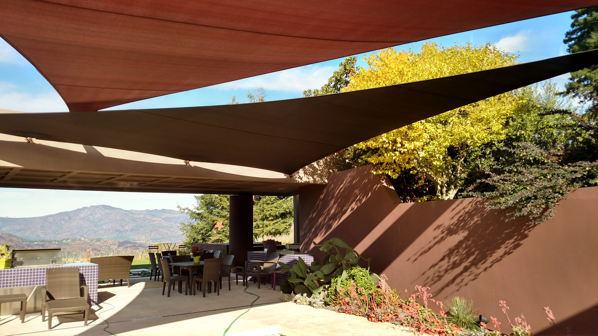 Sonoma Shade Sails High Tension Shade Structures For